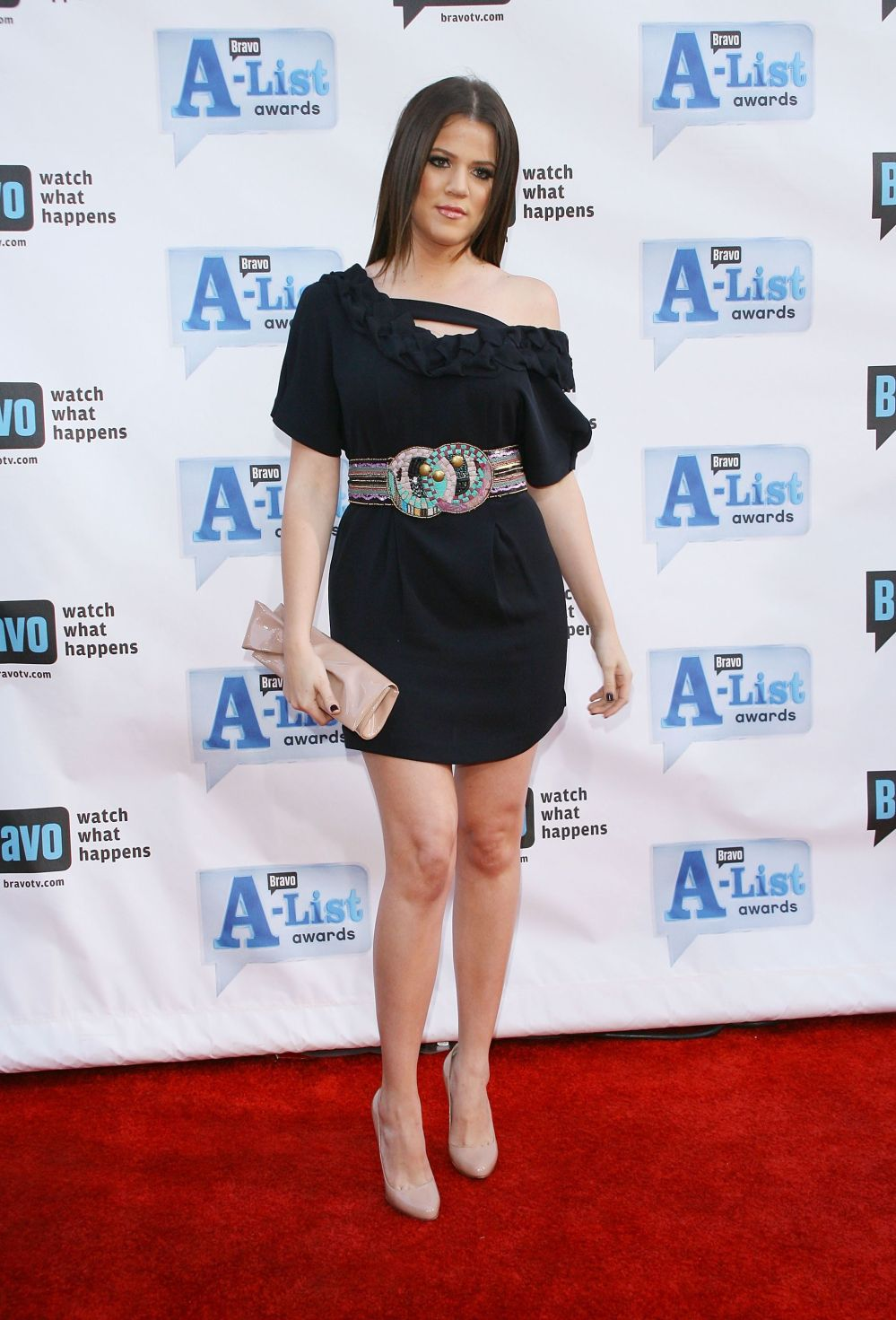 At Bravo's A-List Awards at The Orpheum Theatre in Los Angeles.