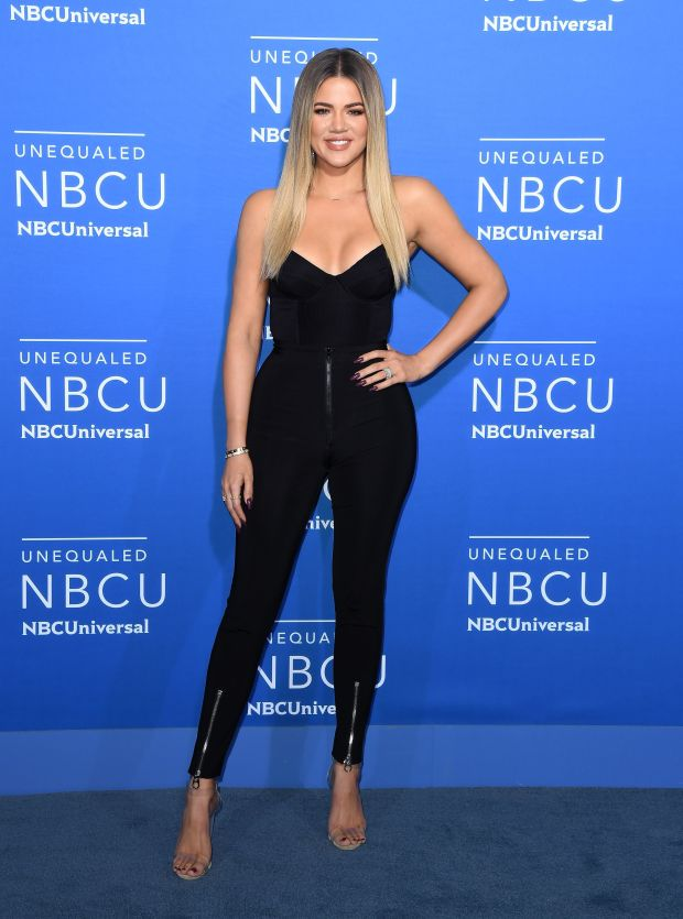At the NBCUniversal 2017 Upfront in New York City.