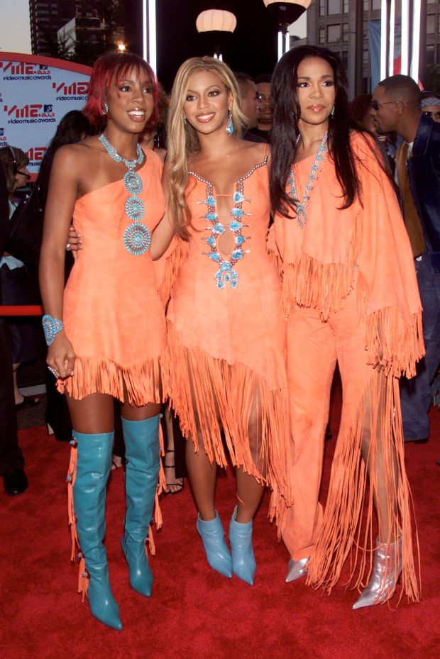At the 2001 MTV Video Music Awards at the Metropolitan Opera House at Lincoln Center in New York City.