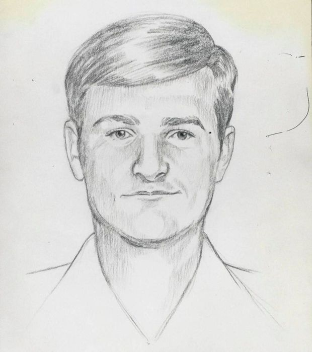 A 2016 FBI sketch of the East Area Rapist/Golden State Killer, who was described in 2016 as between the ages of 60 and 75 yea