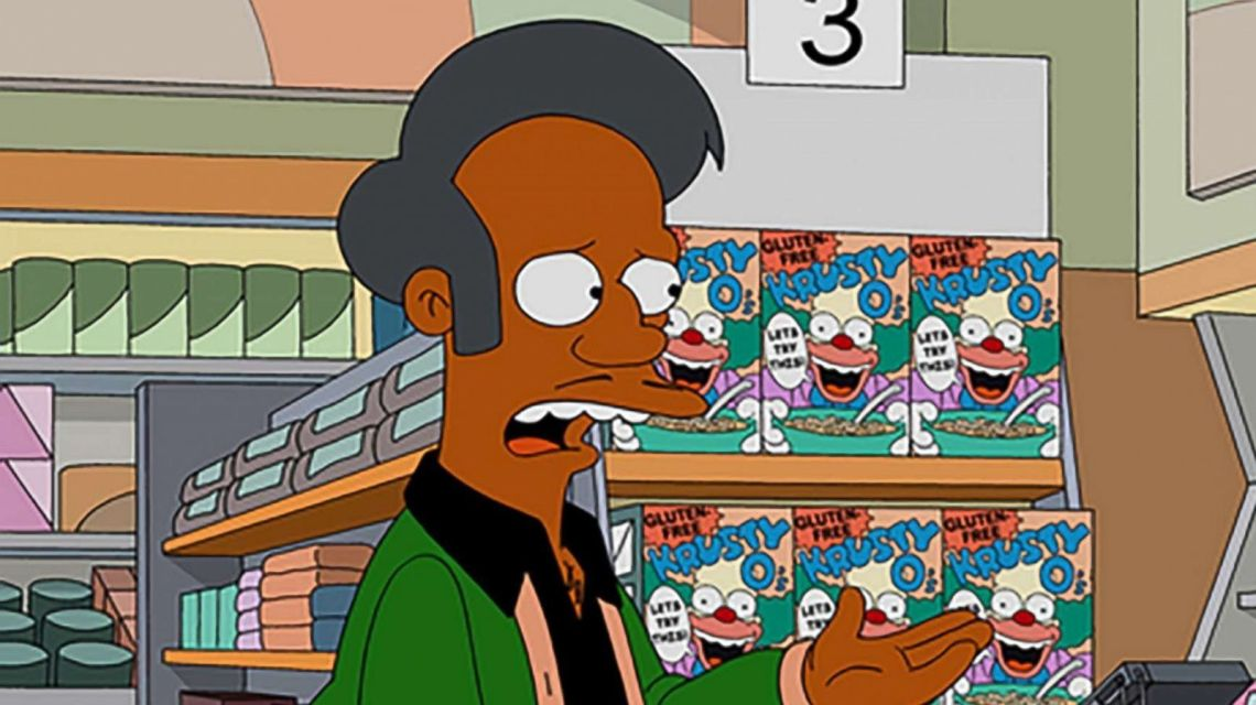 Apu in 'The Simpsons'