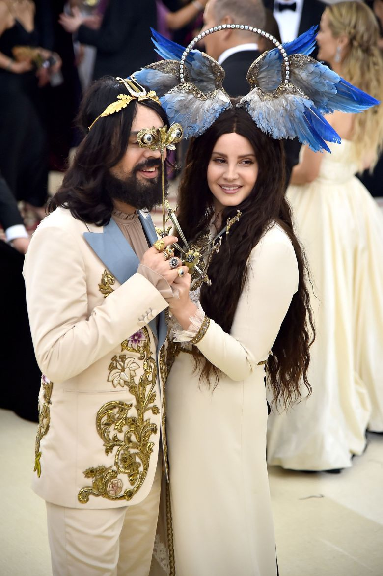 Alessandro Michele and Lana Del Rey