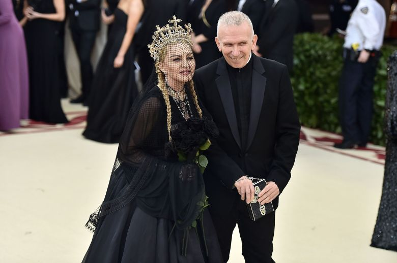 Madonna and Jean Paul Gaultier