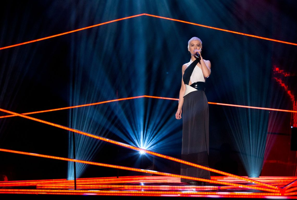 SuRie, the UK's Eurovision hope