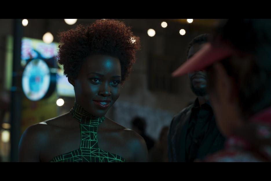 """Lupita Nyong'o as Nakia in """"Black Panther."""""""