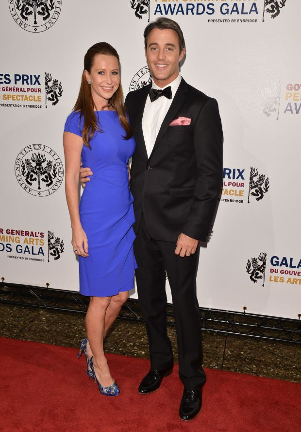 Atthe Governor General's Performing Arts Awards 20th Anniversary Gala in Ottawa, Canada.