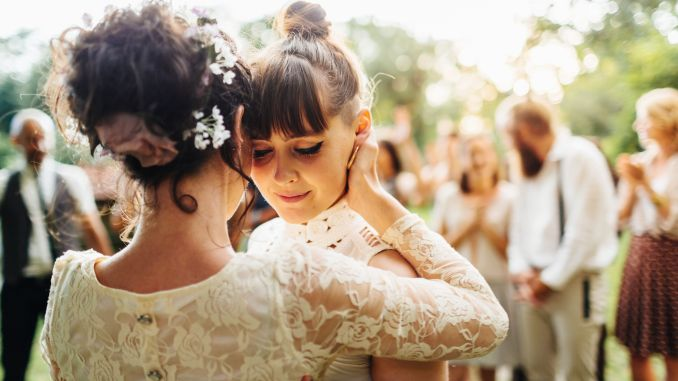 the most popular wedding songs, according to spotify