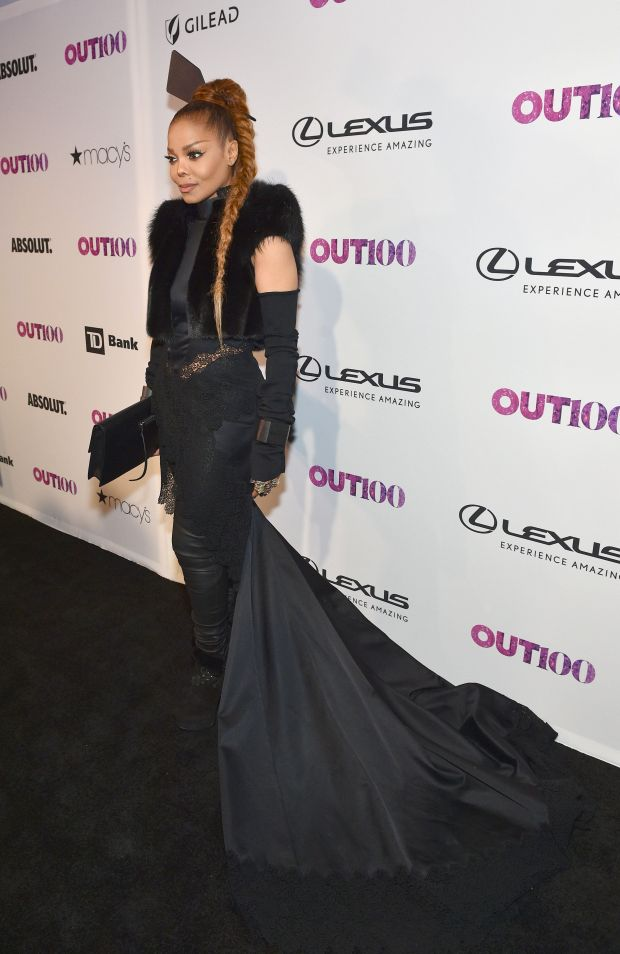 At theOUT Magazine #OUT100 Event in New York City.
