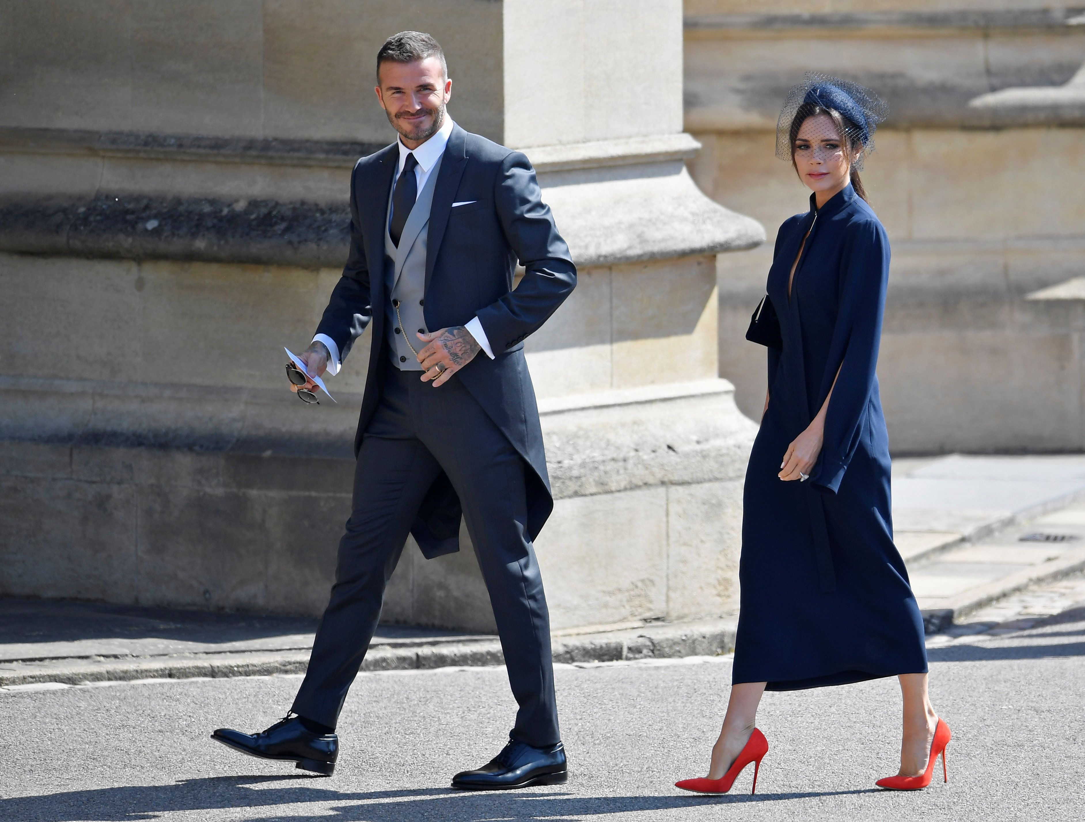 Victoria Beckham Weighs In On Meghan Markle S Royal Wedding Gown Huffpost Life
