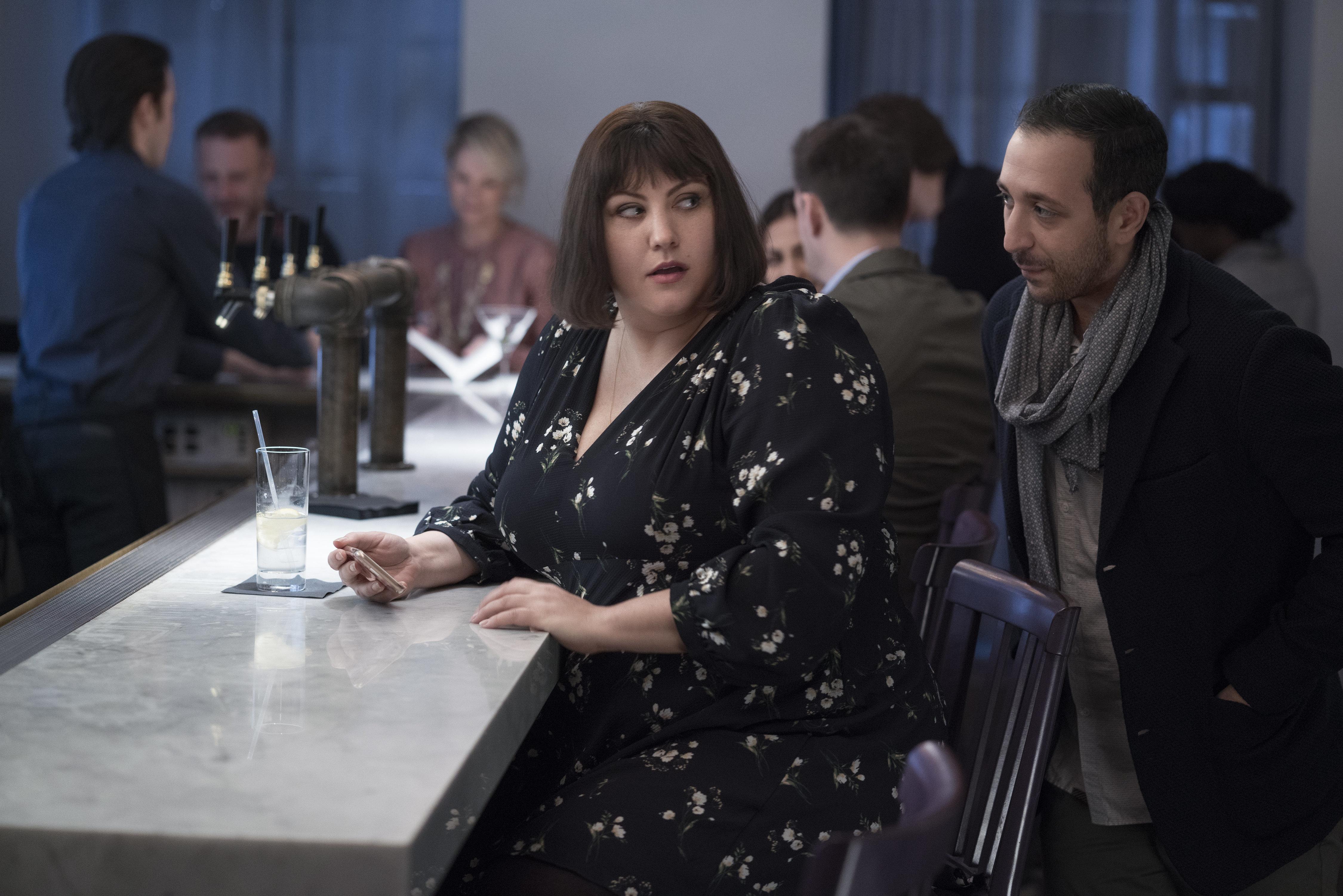 Joy Nash as Plum in AMC's TV adaptation of&nbsp;<i>Dietland.</i>