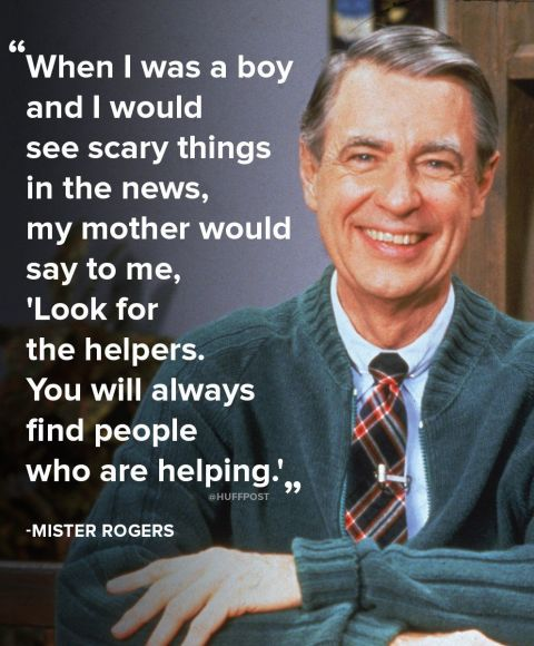 Why Mister Rogers' Plea To 'Look For The Helpers' Still Resonates Today | HuffPost Life