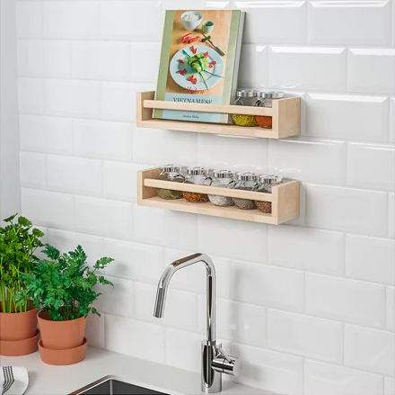 kitchen needs outdoor sink 27 practical ikea gadgets every huffpost life bekvam spice rack