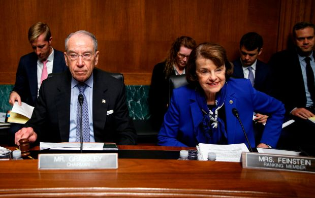 Leaders of the Senate Judiciary Committee cannot believe sexual harassment exists in the judicial branch of government. Reall
