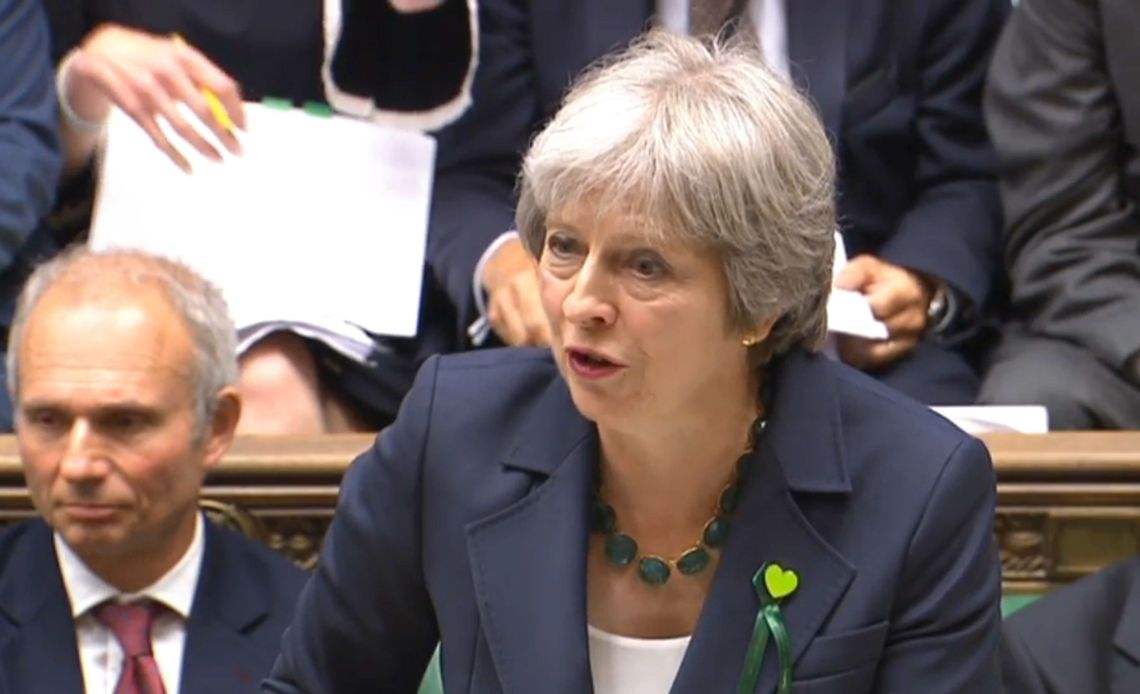 Theresa May has promised more money for the health service