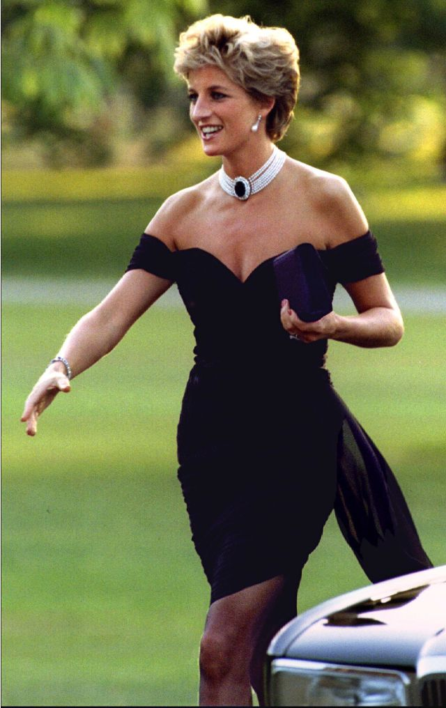 The princess in the little black dress that rocked the world.