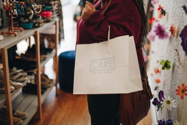 <strong>What it does: </strong>Cake Plus-Size Resale is a body-positive resale shop for sizes extra-large and up that makes s