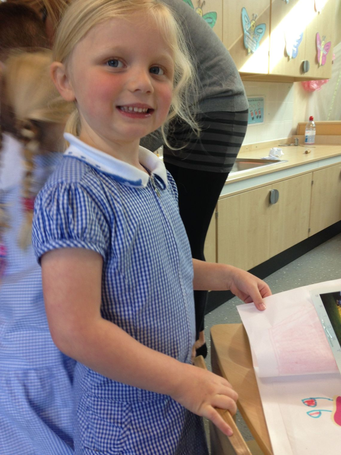 Recently, Amelia Lavelle, saw a volcano erupt in the school playground, but she wasn't going to entertain her mum with that story.