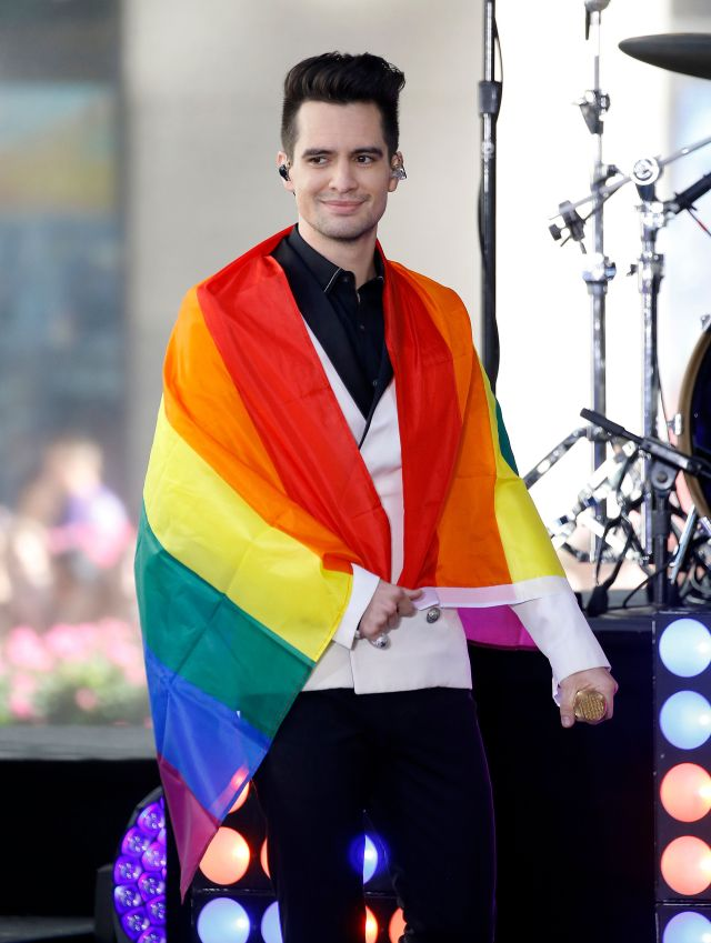 "Urie performs on NBC's ""Today"" show at Rockefeller Plaza on June 29, 2018, in New York City."