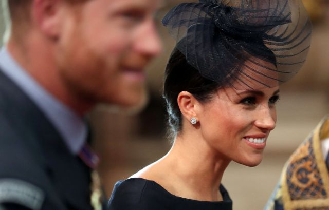 The Duke and Duchess of Sussex at Westminster Abbey on July 10.