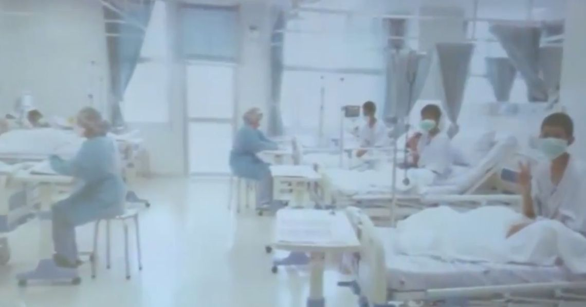 First pictures of the boys recovering in hospital have emerged.