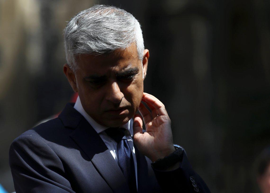 Sadiq Khan, the Mayor of London, in June