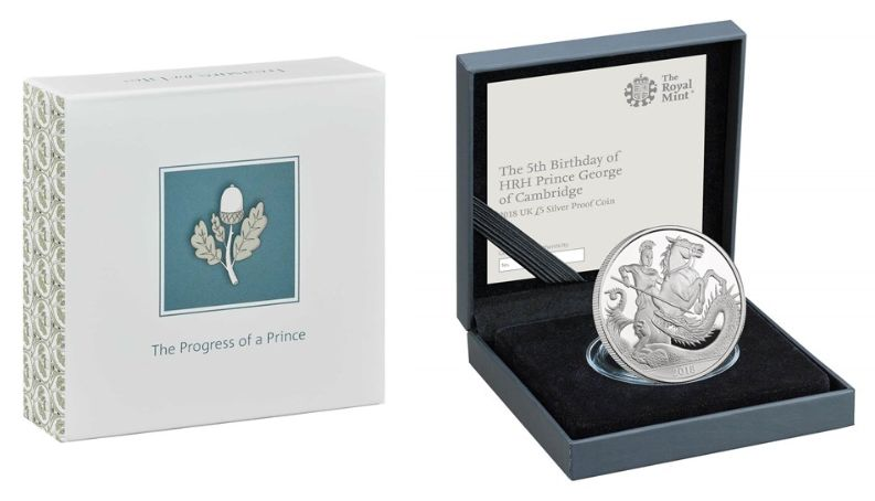 The Royal Mint debuted its commemorative gift to Prince George earlier this month.