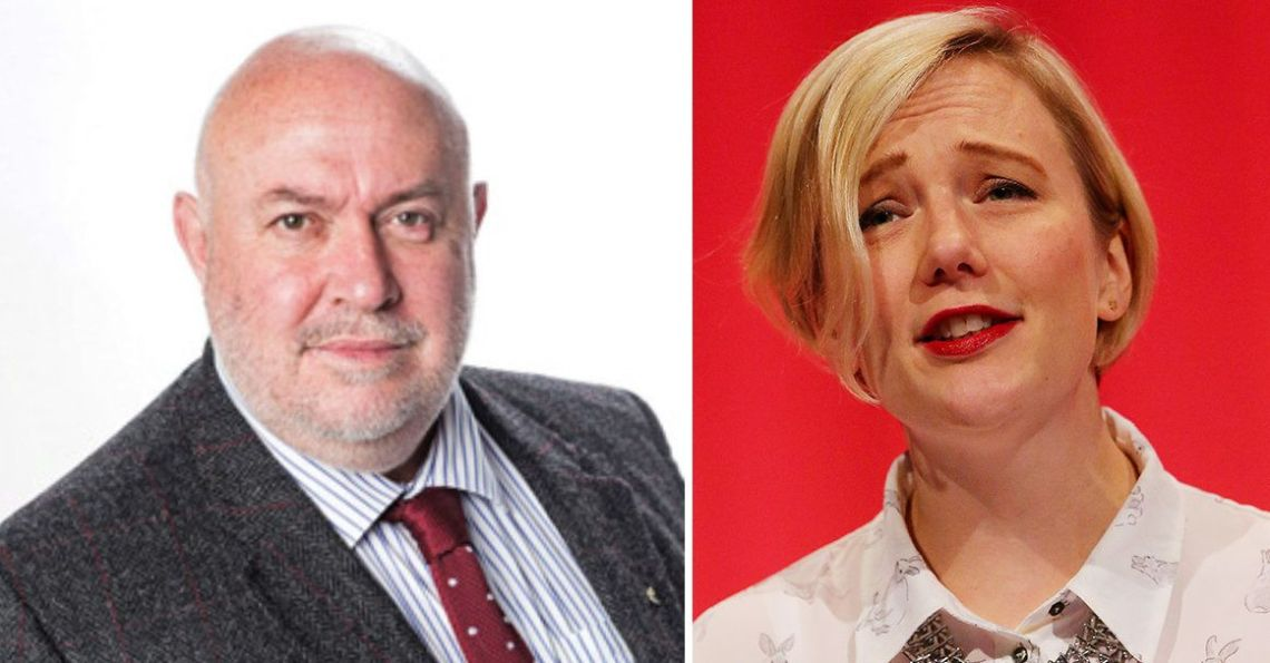 Mick Armstrong, left, chair of the British Dental Association, faces calls from Stella Creasy MP, right, for an investigation into his comments about homeless patients.