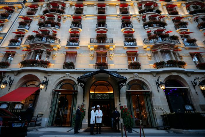 """Astrid and Charlie stayed together at the Hotel George V (now the <a href=""""https://www.fourseasons.com/paris/"""" target=""""_blank"""