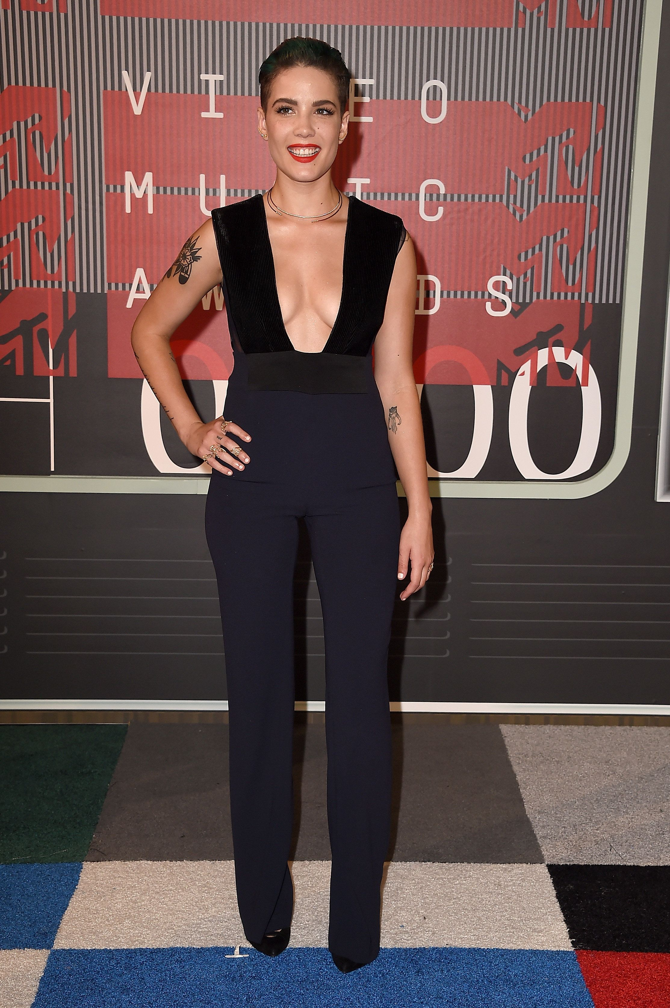 The singer at the MTV Video Music Awards on Aug. 30 in Los Angeles.