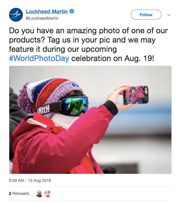 Lockheed Martin's social media campaign backfired.