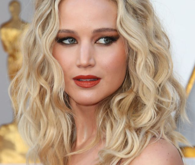 Jennifer Lawrence Attends The Th Annual Academy Awards