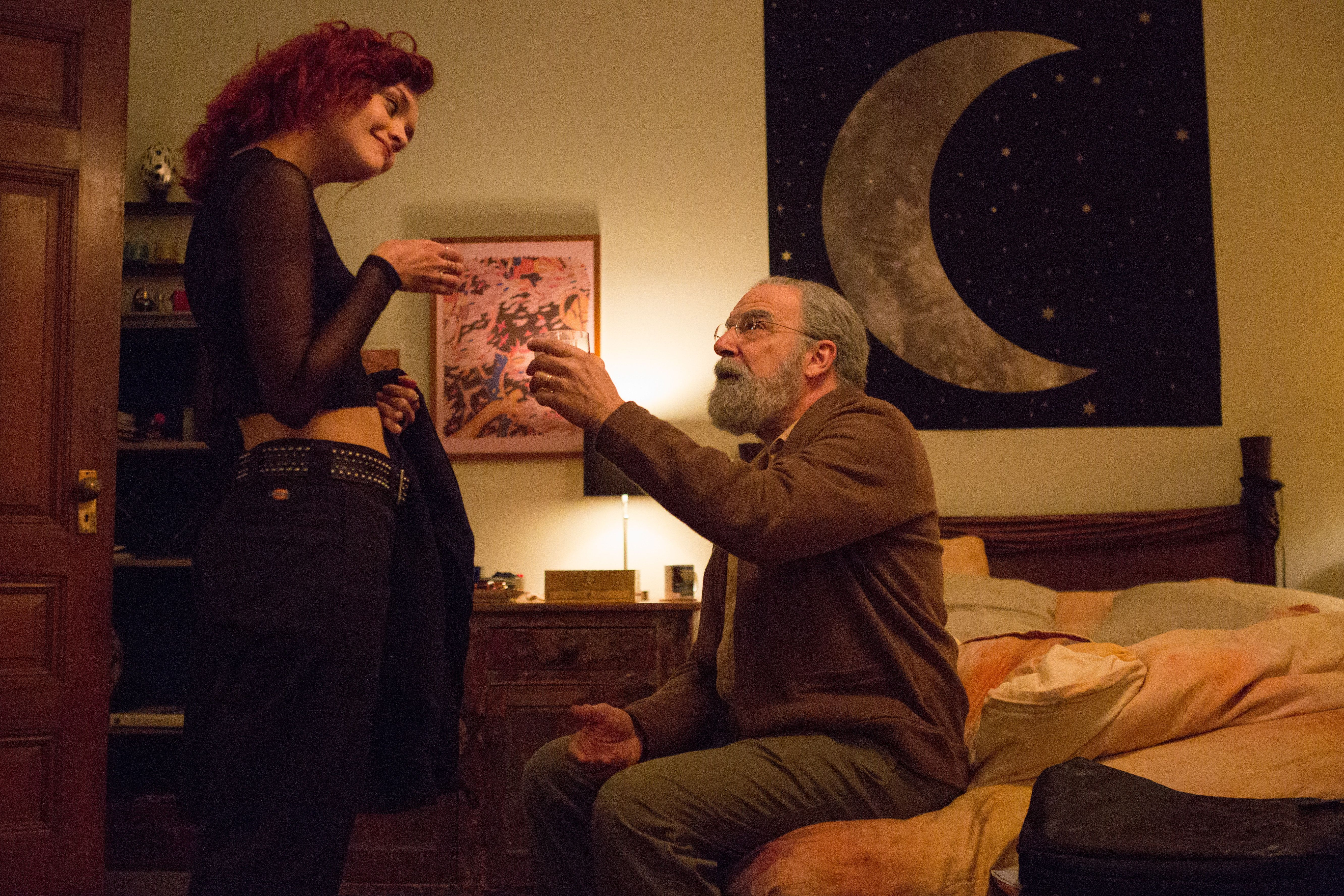 """Olivia Cooke and Mandy Patinkin in """"Life Itself."""""""