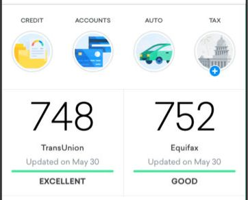 Your credit score is typically available free through major credit card issuers.
