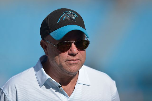 Panthers owner David Tepper is not a fan of Donald Trump's attitude toward NFL players who take a knee during the national an