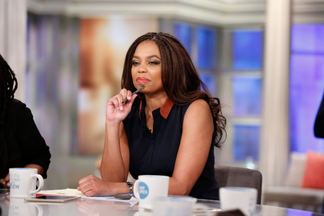 """Jemele Hill on ABC's """"The View"""" on Feb. 21.After 12 years at ESPN, she announced that she is leaving"""