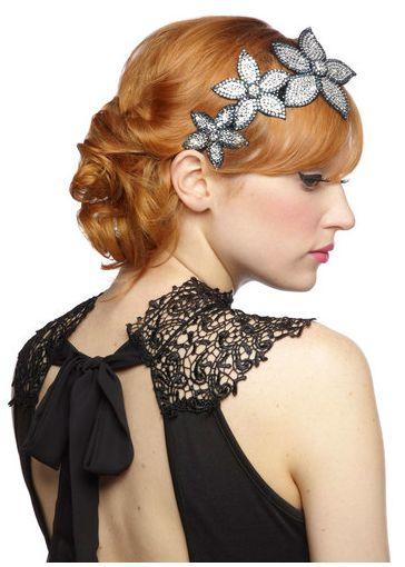 flapper girl hair