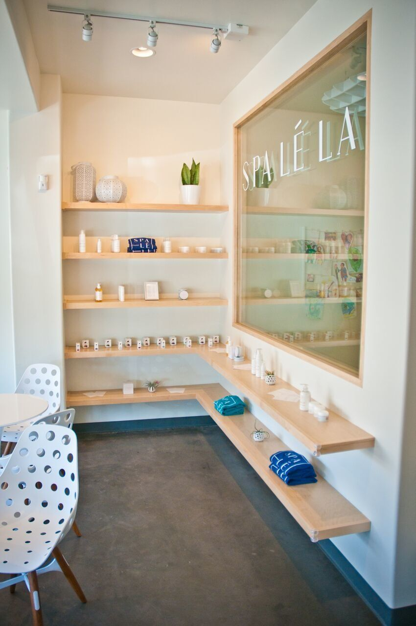 Kids can also take classes at the spa, a feature that founder Trina Renea says alleviates the guilt a parent might feel for t
