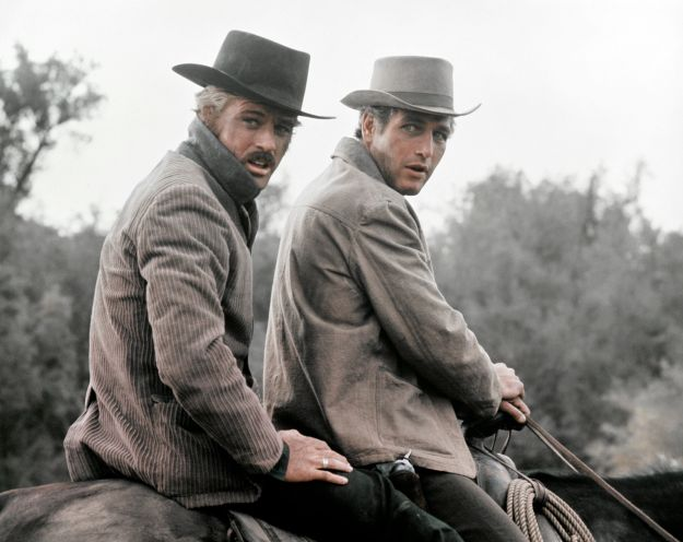 """Robert Redford and Paul Newman in """"Butch Cassidy and the Sundance Kid."""""""
