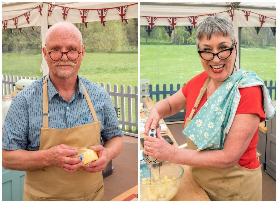 Terry and Karen have left 'Great British Bake Off'