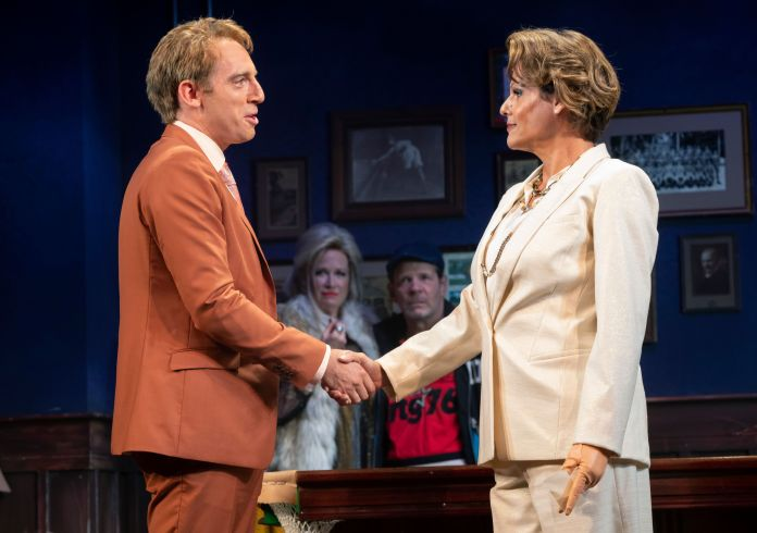 """Alexandra Billings stars in """"The Nap,"""" now on Broadway."""