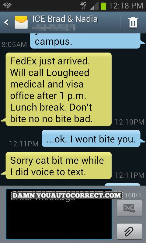 Funny Text To Speech Messages : funny, speech, messages, Funniest, Autocorrect, Fails, HuffPost