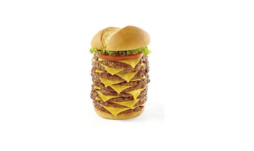 triple triple burger from