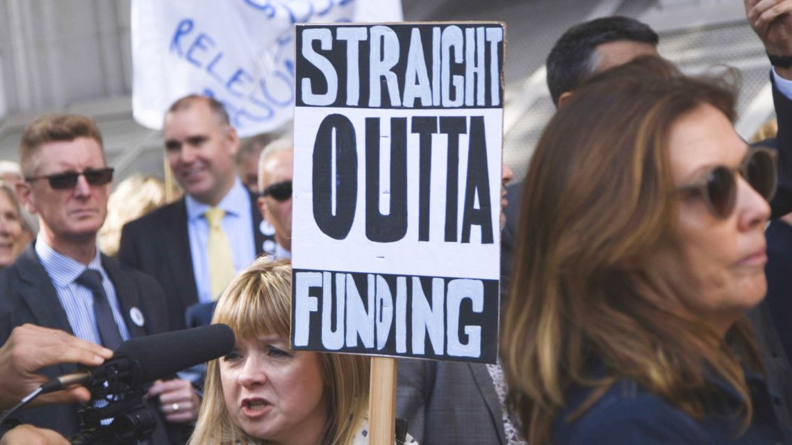 Headteachers March Over Cuts: 'Enough Is Enough'