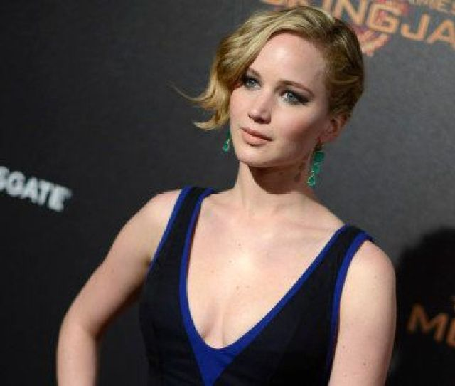 Jennifer Lawrence Seen At The Hunger Games Mockingjay Part 1 Party At The 67th