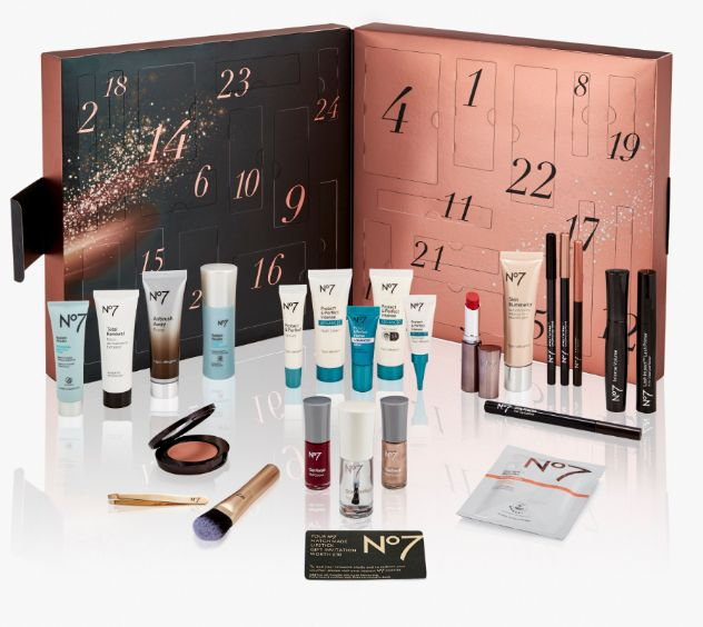We love that No7's offering is a mix of skincare products and makeup – from eye serum to lipstick, which is better than some advent calendars which offer 24 nail varnishes in different shades (NO ONE NEEDS 24 NAIL VARNISHES!). There's even a mini gold makeup brush and some tweezers. All-in-all, this calendar is estimated to be worth £177.The calendar isn't out until 16th October and there's already a waiting list longer than Santa's naughty list – with more than a whopping 87,000 keen beans putting their names down. Whatever floats your boat, guys, we've only just realised it's October.Join the waiting list here, Boots, £42