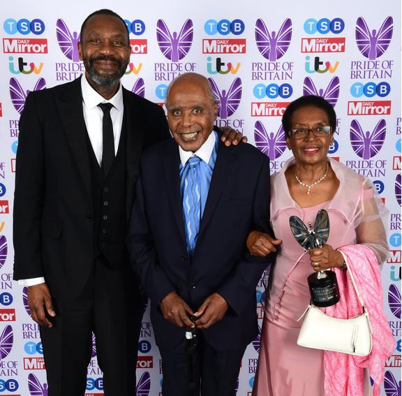 Paul Stephenson - pictured here with his wife and Lenny Henry - received a Pride of Britain award in 2017 for his work as an anti-racism campaigner
