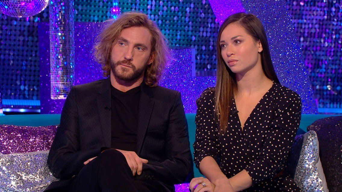 Seann Walsh and Katya Jones appeared on 'It Takes Two' on Wednesday
