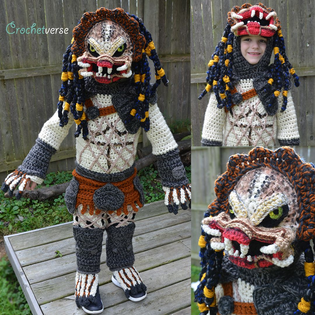 mom crochets ridiculously cool