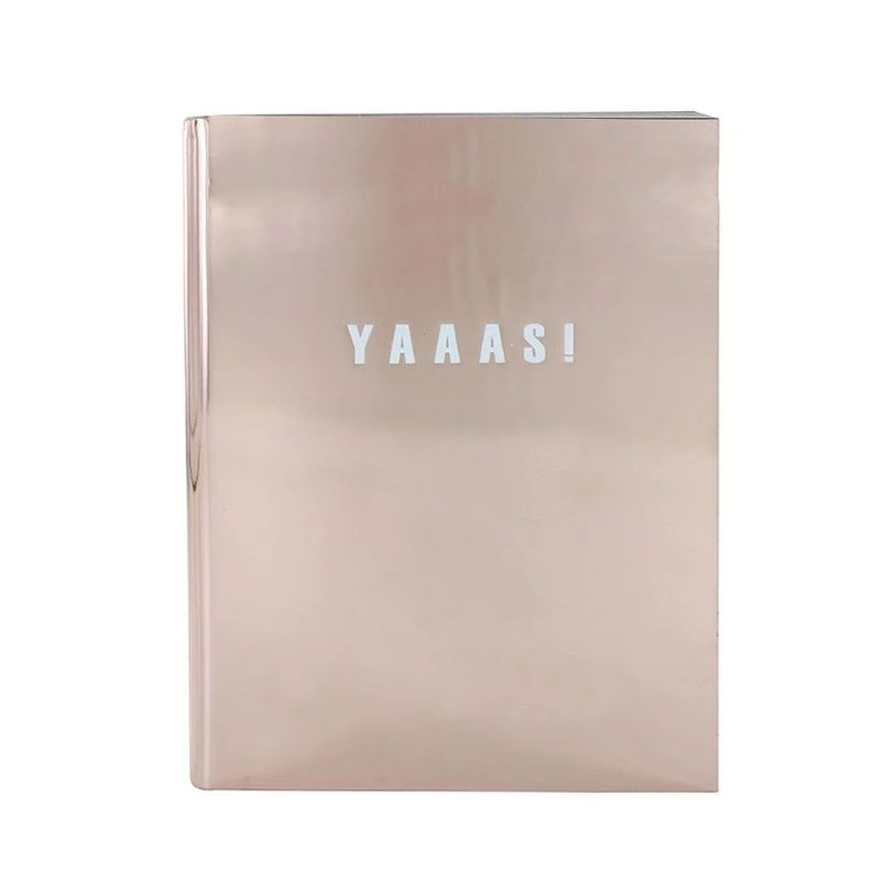 Is there a notepad that will make you more excited for Christmas than this? Probably not. The pad has lined pages with gold edges (so fancy) and is A6 size.Paperchase. £8.