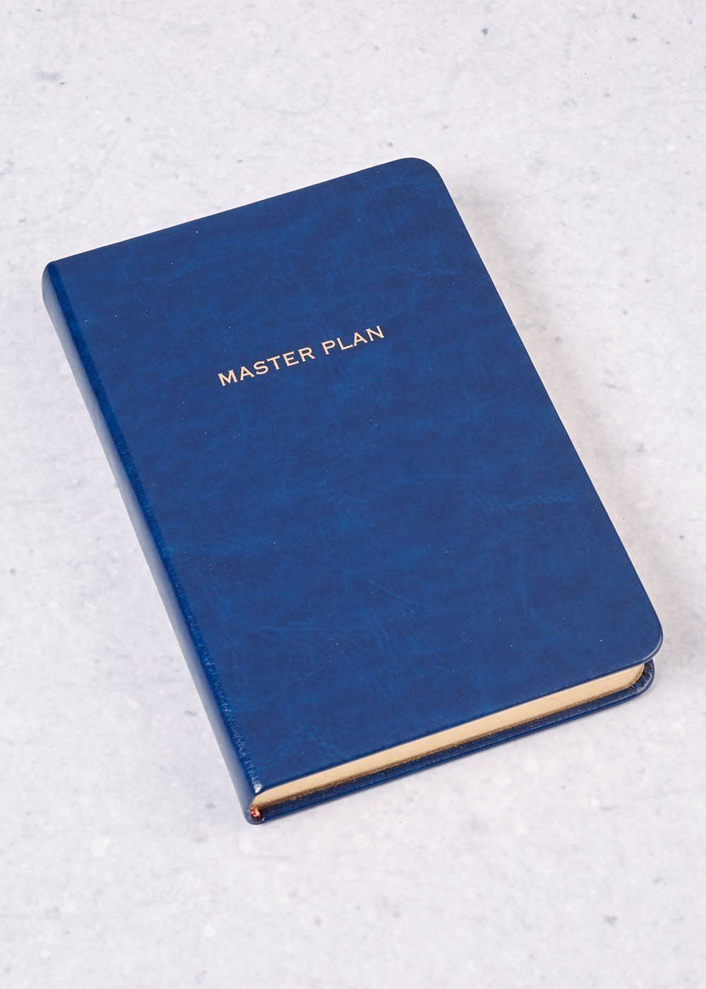 Serious, smart, and simple. Get your plans together in this lined slogan notepad. It's lined, and slightly smaller than A4 at 17cm by 12cm. Matalan. £5.